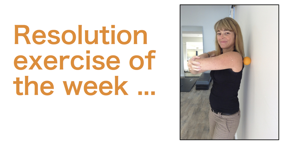 Resolution exercise of the week