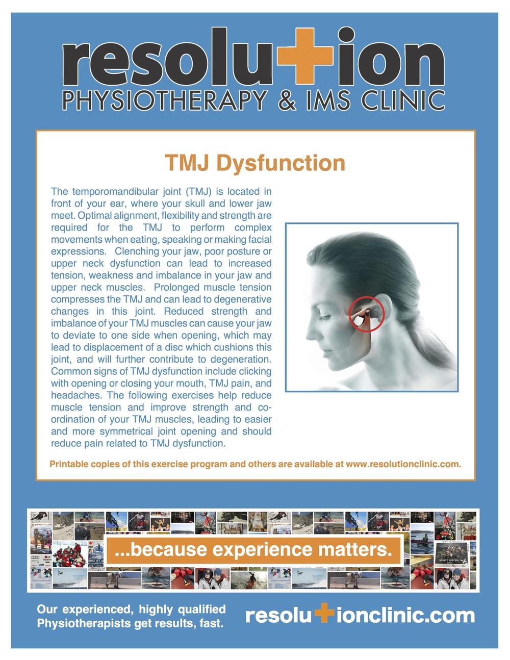 TMJ Pain Barrie