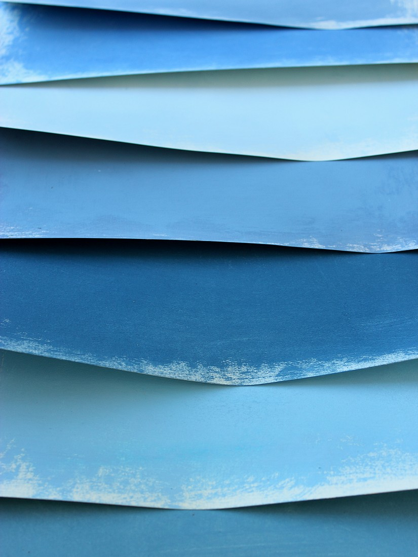 Bluue Paper Sheets, 2014