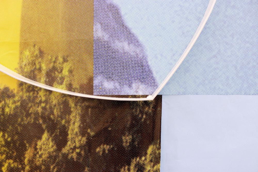 Periphery (detail) 2013 (paper, steel) 146 x 93 x 45cm
