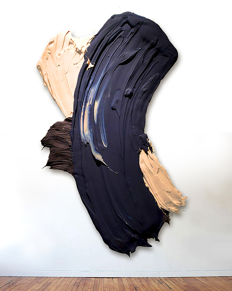 Togoyo, 2014, 43 x 68 inches (109 x 173 cm), polymer and pigment mounted on aluminum