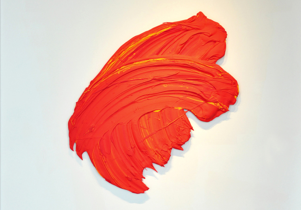 Alanic, 2014, 45 x 55 inches (114 x 140 cm), polymer and pigment mounted on aluminum