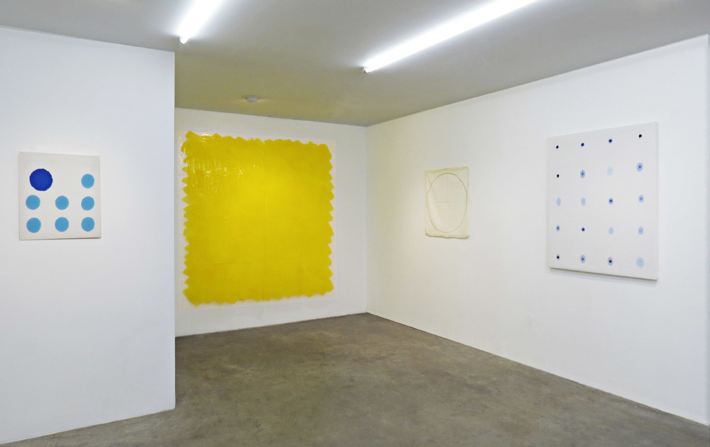 """Threshold of Perception"" installation view at Scaramouche New York, 2015"