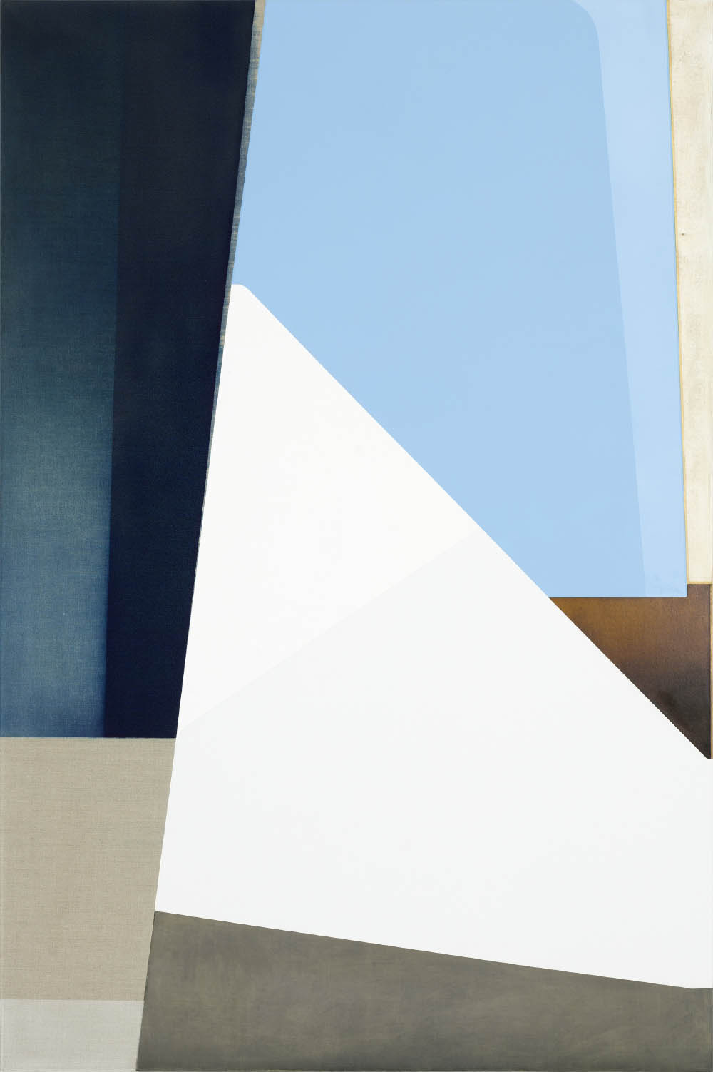 Untitled, 2015, oil on canvas, 210 x 140 cm