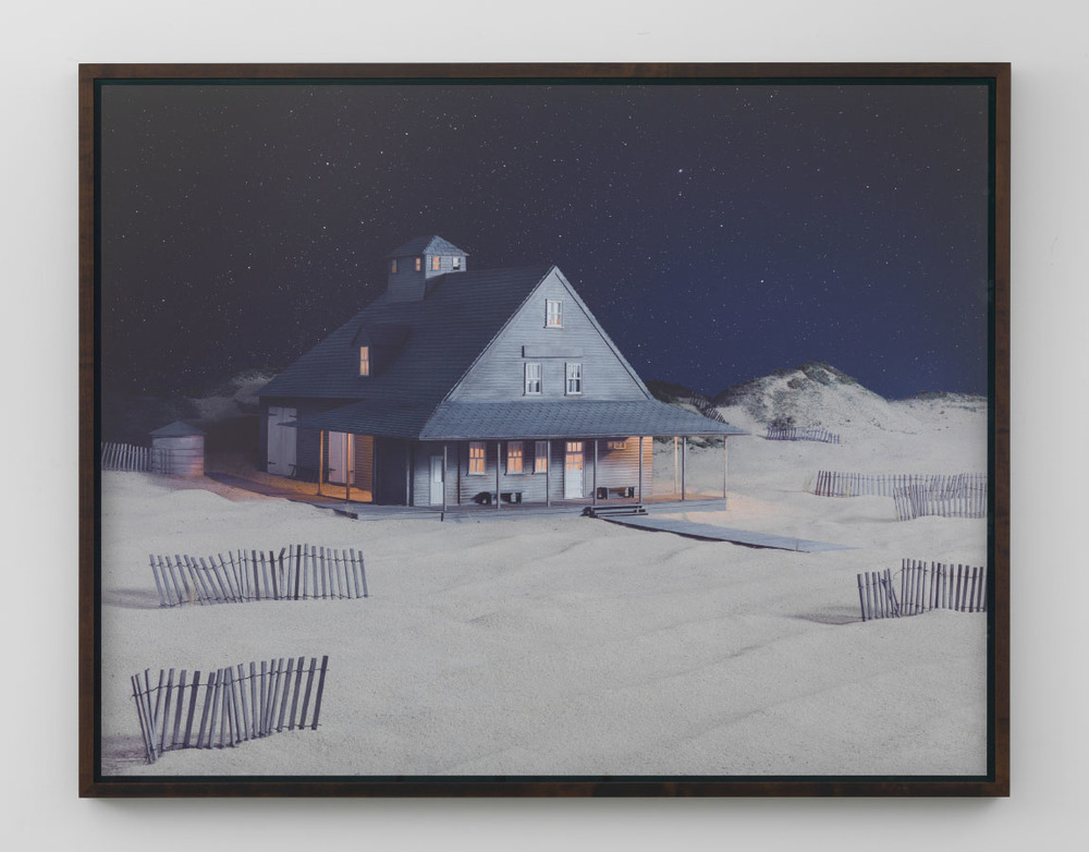 Party at Caffey's Inlet Lifesaving Station (Dare County, NC), 2013, archival pigment print, 76.2 x 97.79 cm