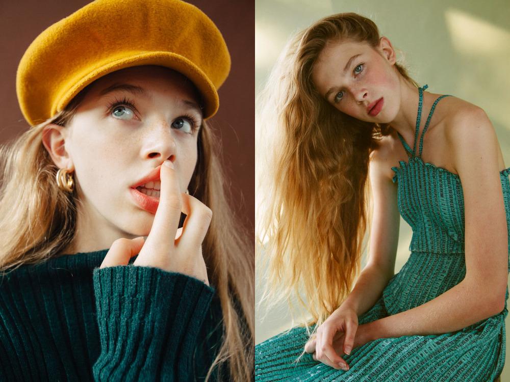 hat and earrings  VINTAGE  knitwear   MARIA DORA  .dress   KAO PAO SHU