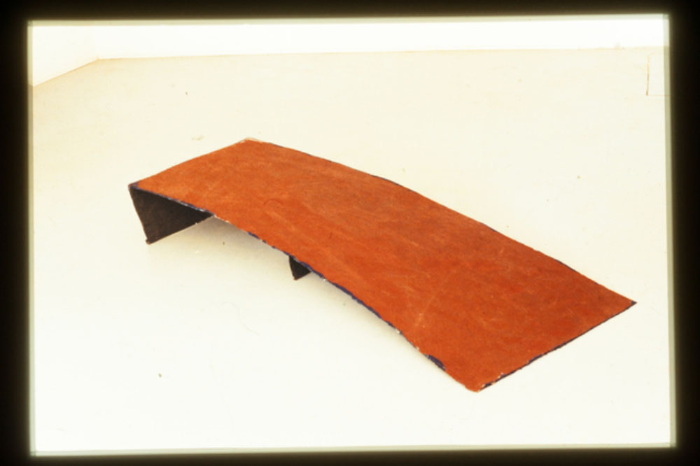 Ramp, 1975-1983, Poster scarps, lacquer