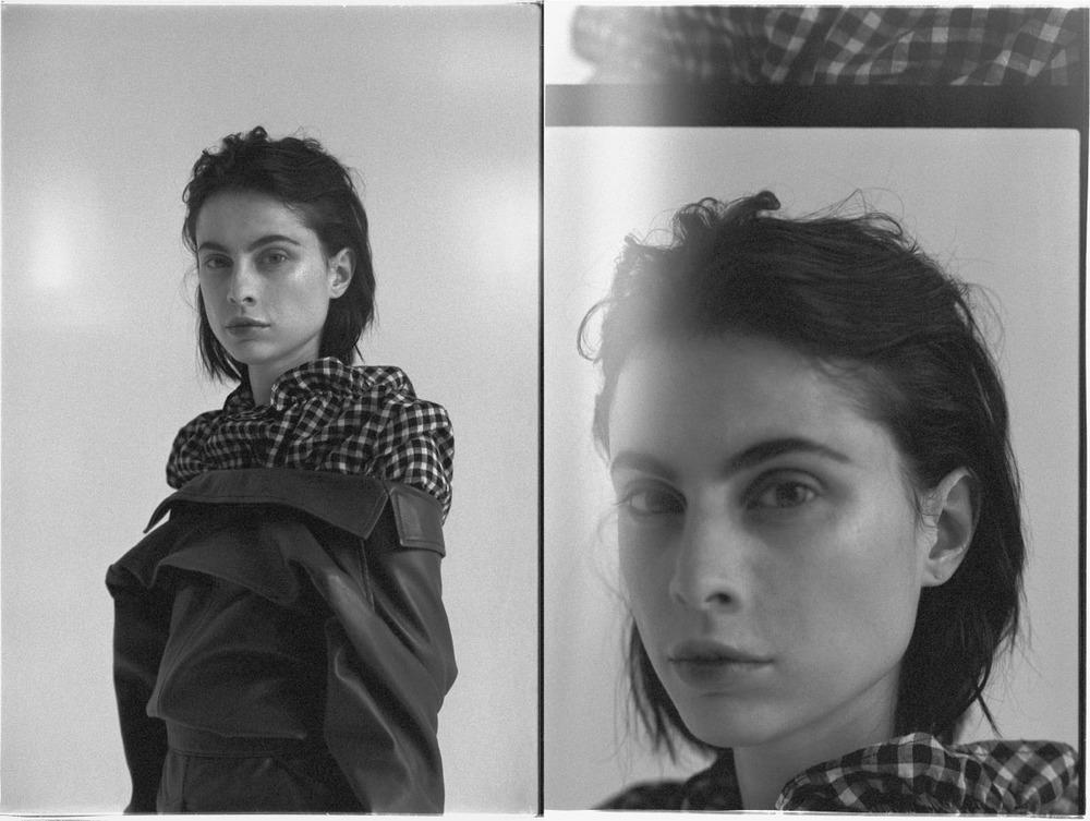 blouse MIH JEANS jacket GANNI