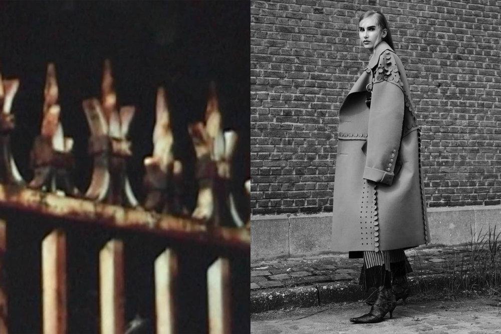 coat EMMANUEL A. RYNGAERT pants and shoes NADIA ERWEE