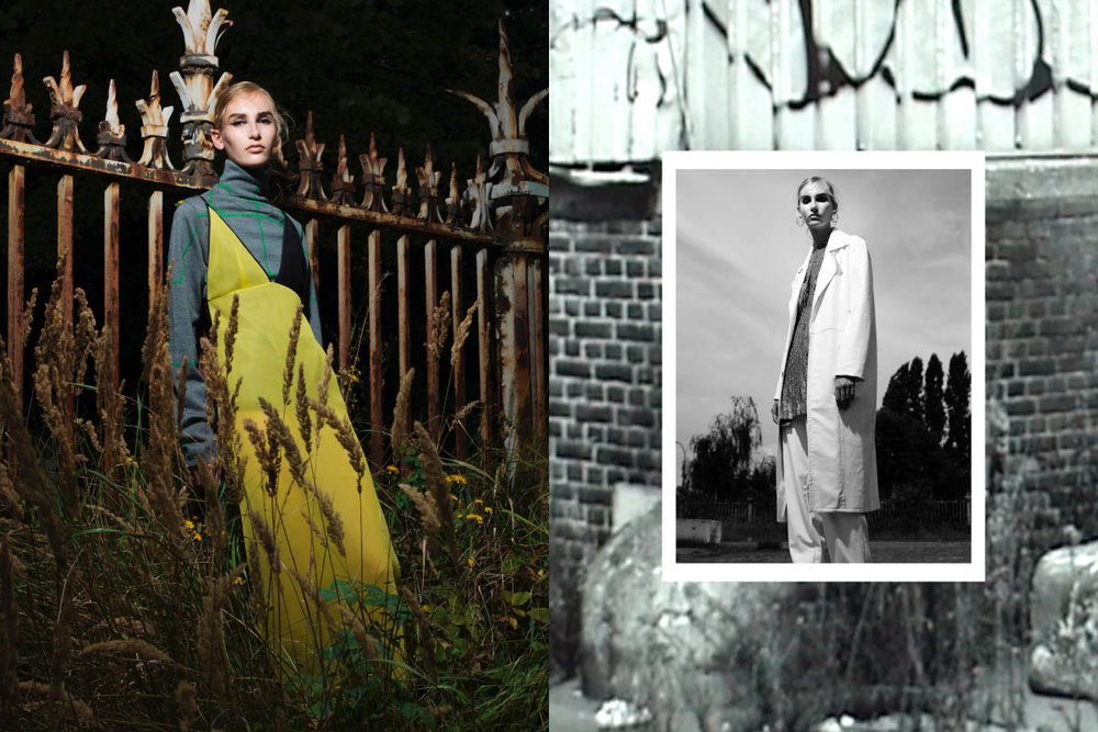 turtleneck EDMUND OOI dress HORNOF TV.top NADIA ERWEE coat and pants DEVON HALFNIGHT LEFLUFY
