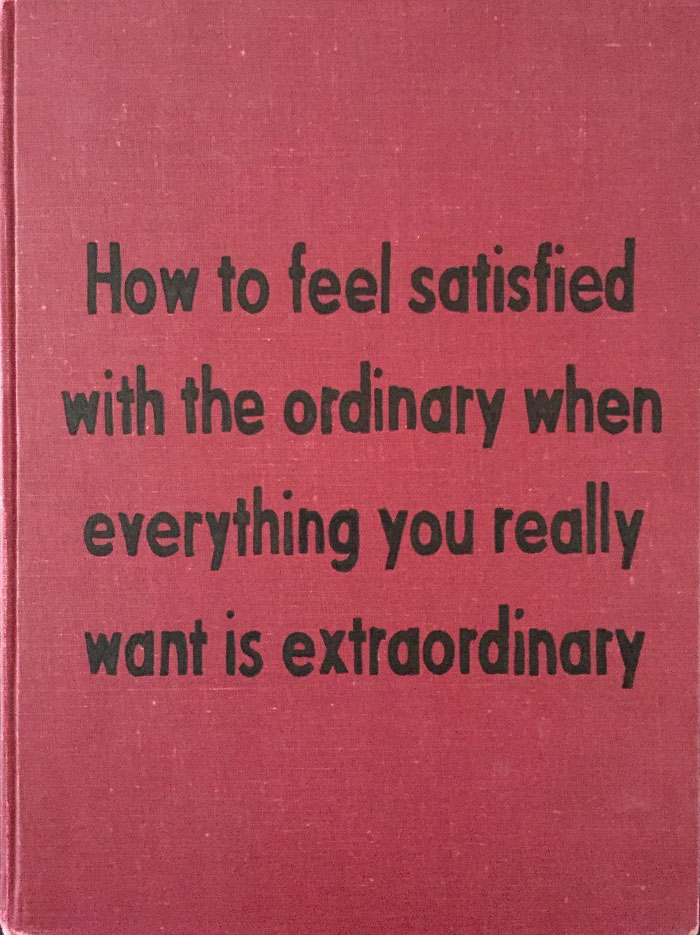 Want The Extraordinary