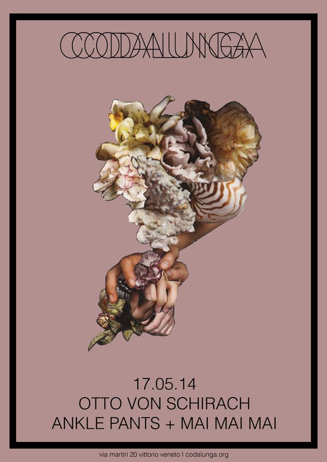 Otto Von Schirach + Ankle Pants + Mai Mai Mai,2014, collage, 37 X 28 cm