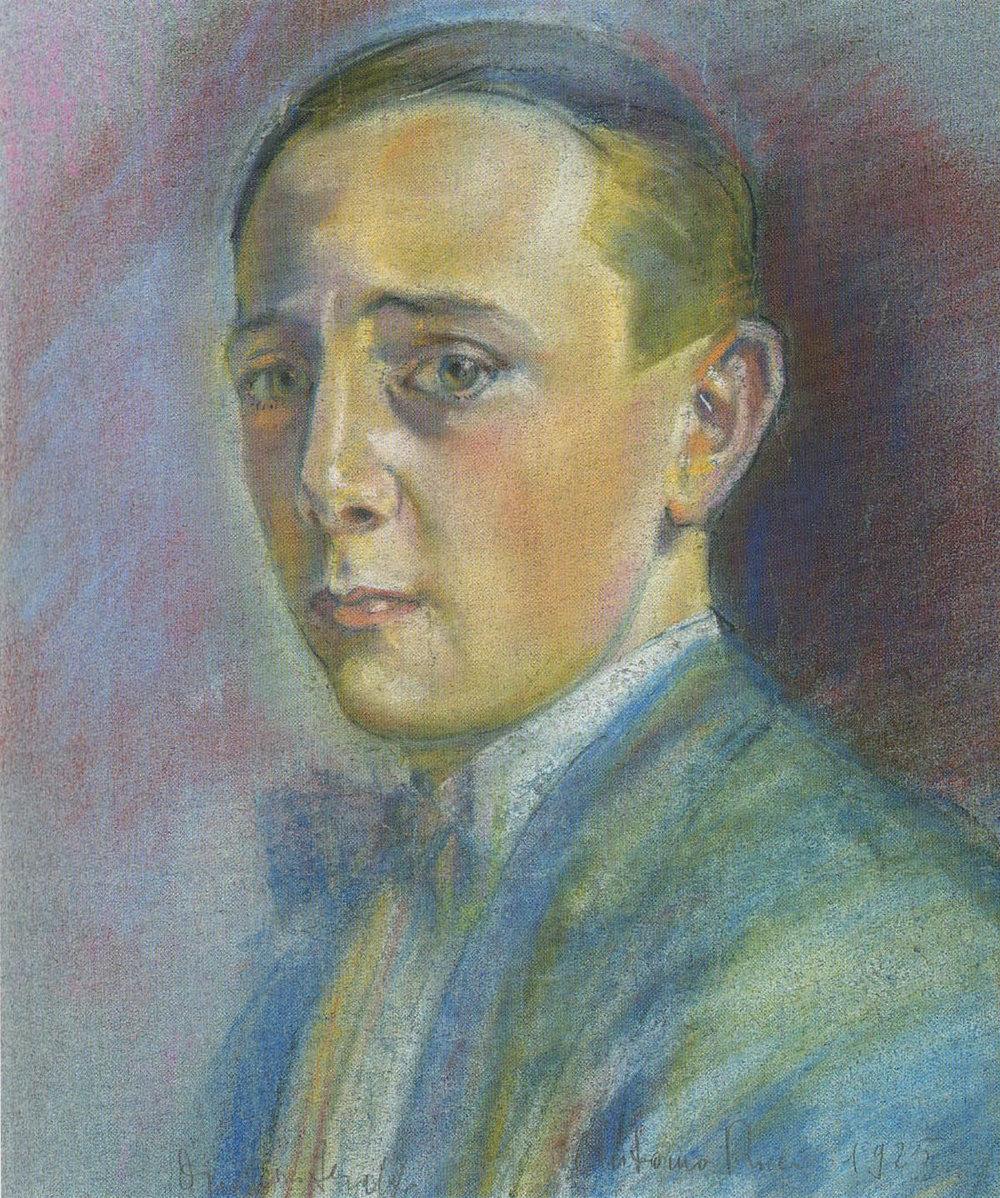 Autoritratto, 1925