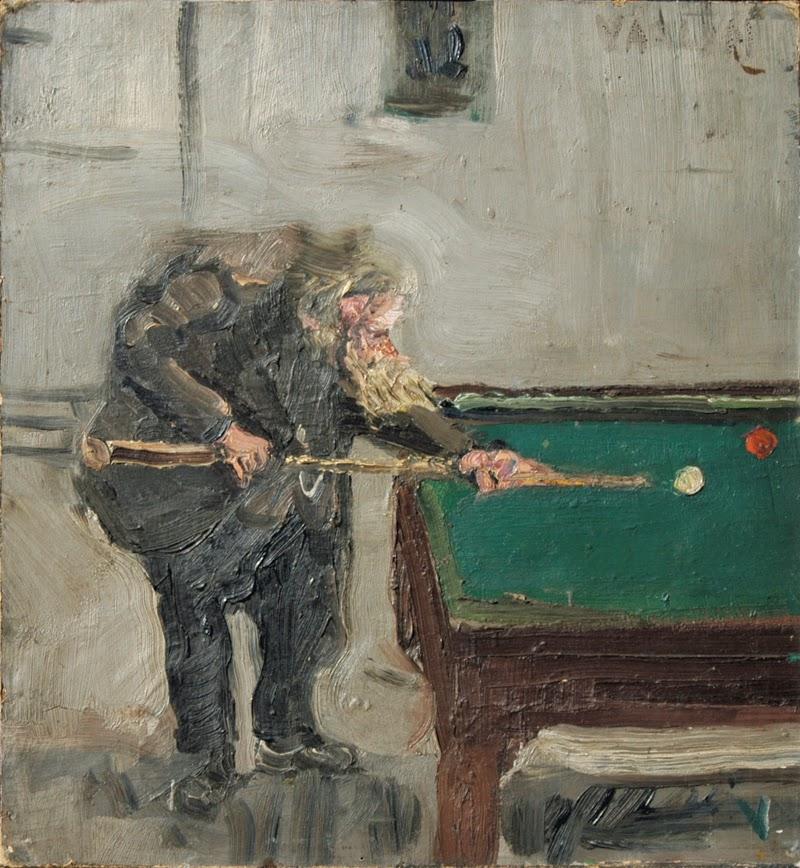 Wolz al biliardo, 1944
