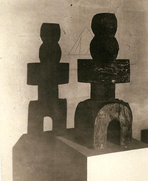 Projet d'architecture, 1918 European Sculpture