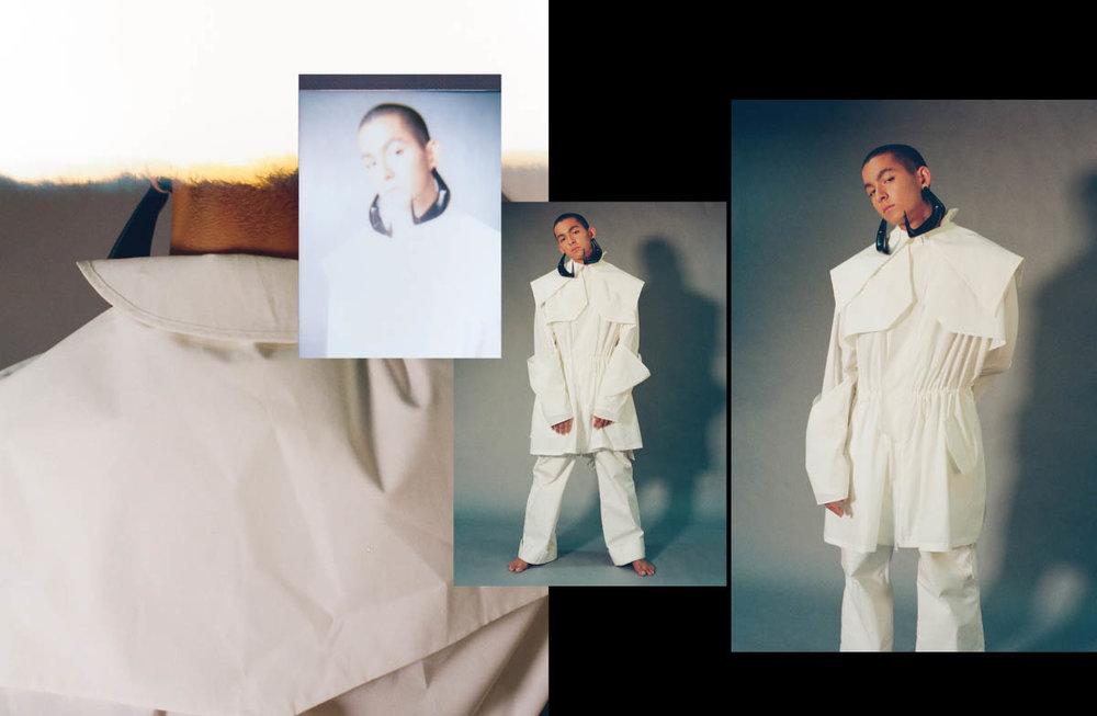 Antoine wears jacket and pants   STAFFONLY STUDIO