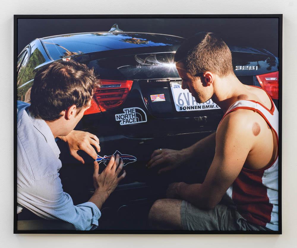 Sunset, 2015,archival inkjet print,102 x 127 cm