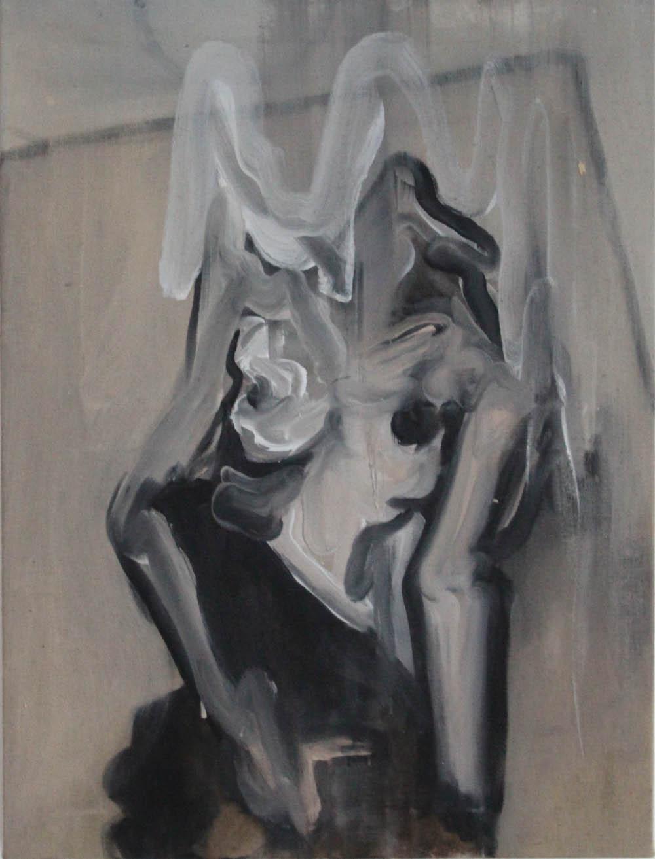 Ignition, 2017, oil on linen, 61 x 46 cm
