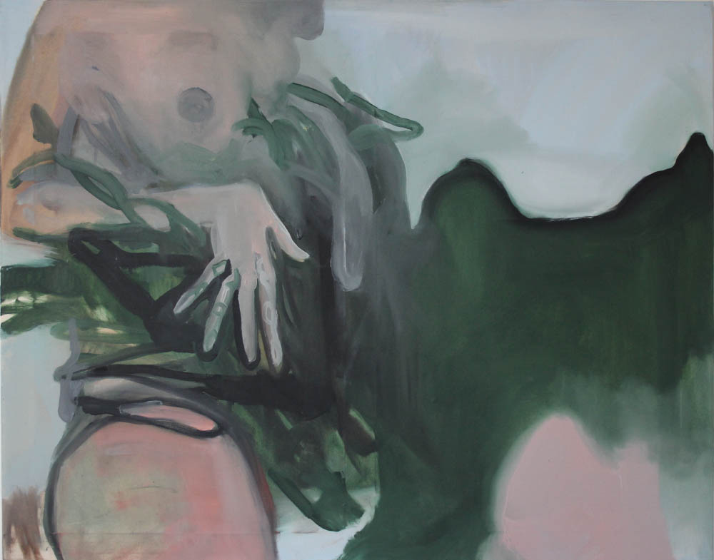 Always knew she was a witch, 2017, oil on canvas, 73 x 92 cm