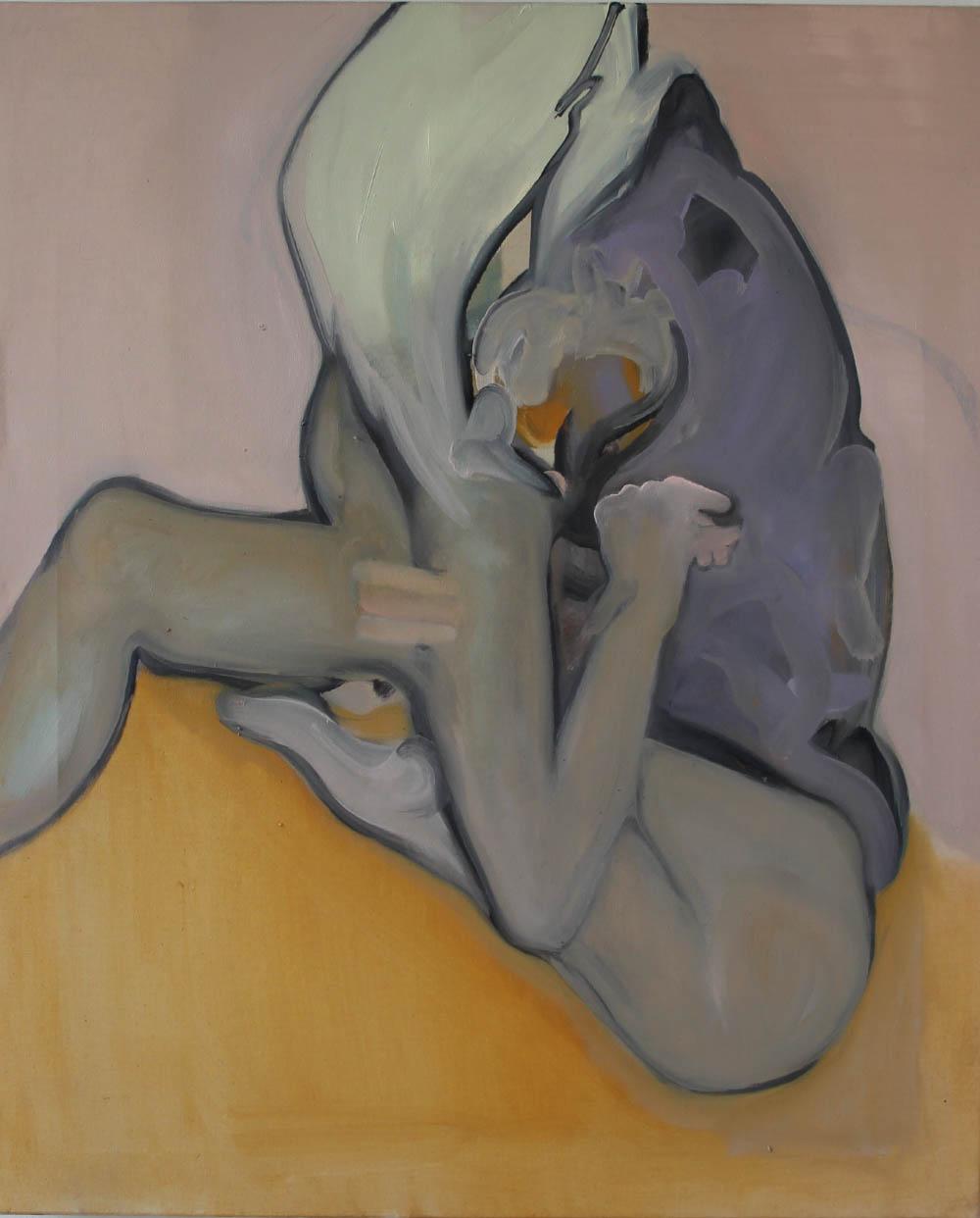 Bruises, 2017, oil on canvas, 61 x 50 cm