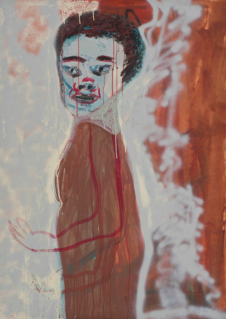 Mosadi Moholo , 2006. Image courtesy of Goodman Gallery