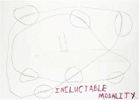 Ineluctable Modality, 1999.