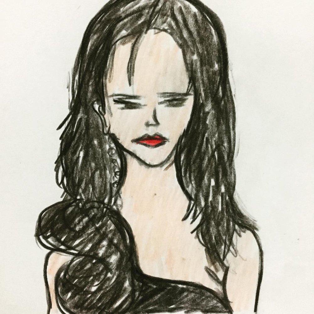 My Hari Nef drawing.