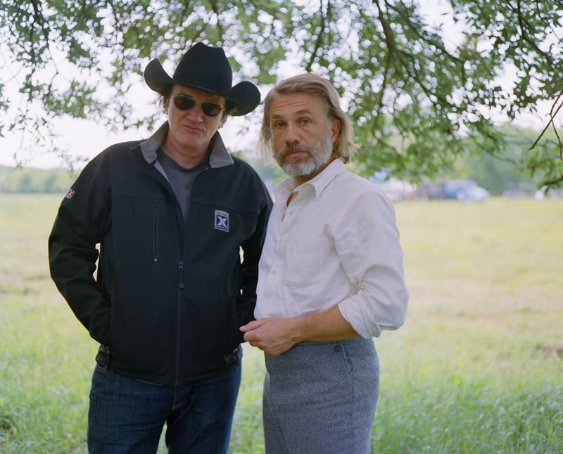 Christoph Waltz & Quentin Tarantino