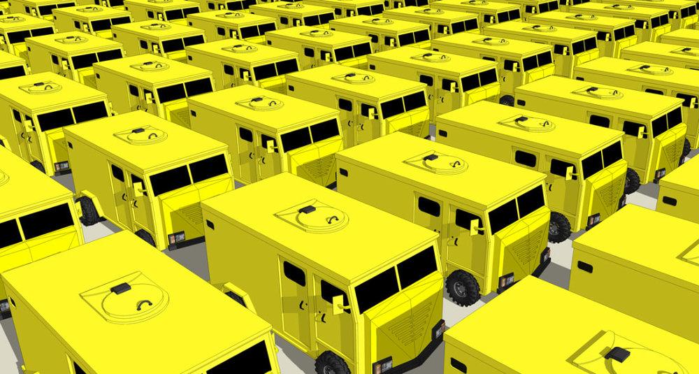 Parking lot, 2008