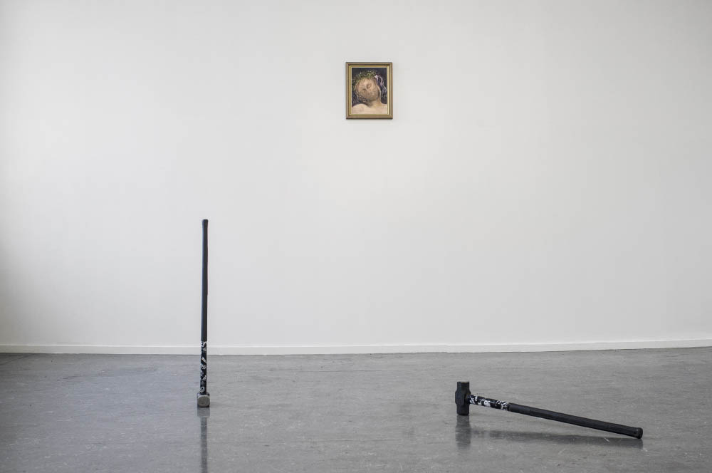 The Heroes Are or Were Members of Society, 2015, installation view