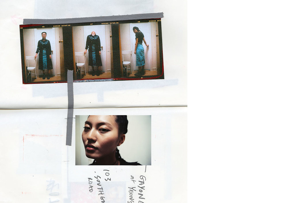 jacket   COMME     DES     GARÇONS     top  VINTAGE  skirt  STYLIST'S OWN