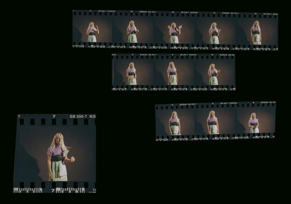 turtleneck  BLUMARINE  top  NORA AL SHAIKH  skirt  CREATURES OF COMFORT