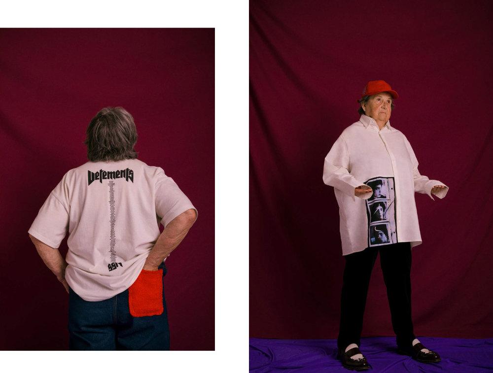 t-shirt   VETEMENTS   jeans   MIXSEVEN   .  shirt   RAF SIMONS   jeans  STYLIST'S OWN  shoes   ANDREA POMPILIO     cap   ANTI SOCIAL SOCIAL CLUB