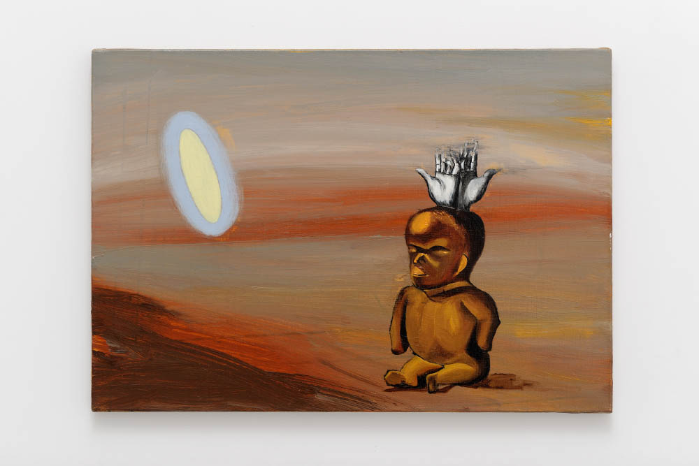 Alzati, 2015,Oil on canvas, 35 x 50 cm (13 3/4 x 19 5/8 in.)