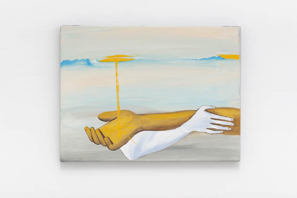 Soccorso D'oro,2016, Oil on canvas, 30 x 40 cm (11 3/4 x 15 3/4 in.)