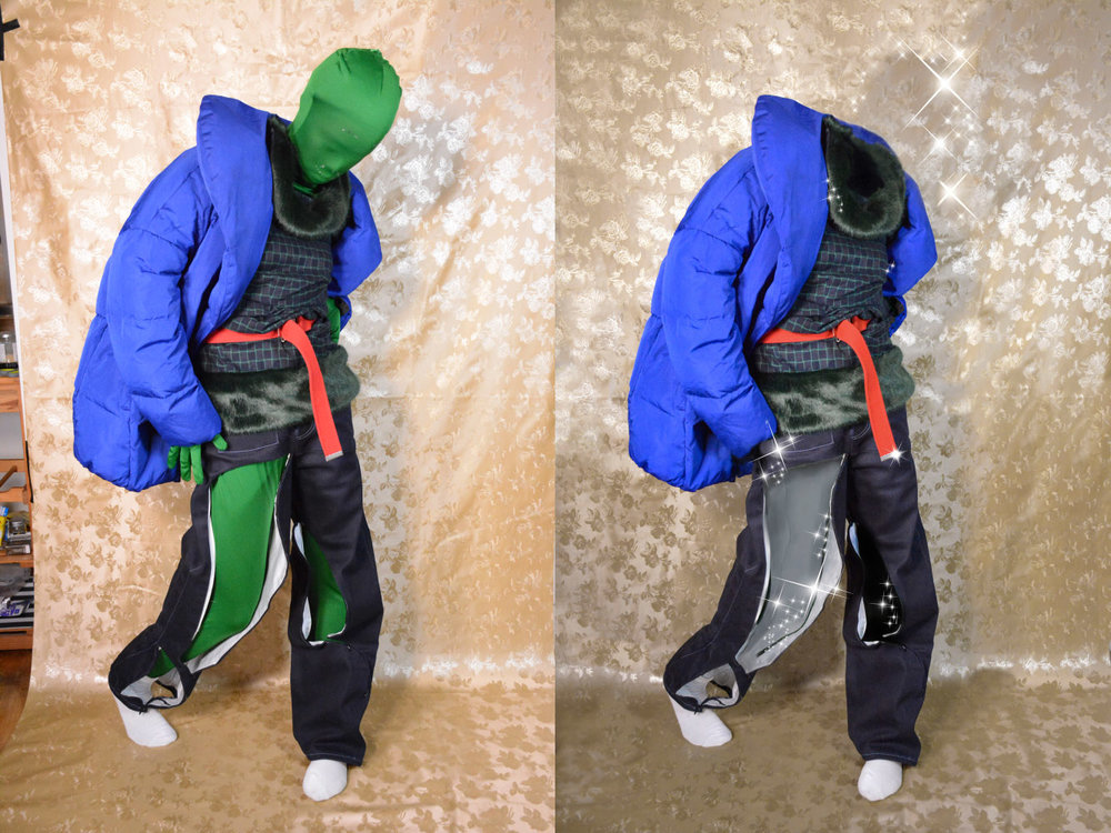 coat  MANGO  dress  COLLECTIF VINTAGE  belt  D&G  trousers  VANESSA BON