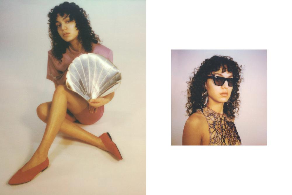 shirt  ALEXANDRU PLESCO  pants  STYLIST'S   OWN  shoes  VAGABOND . sunglasses  ETNIA BARCELONA  earrings  LIVE TO EXPRESS  top  LOU DE BETOLY