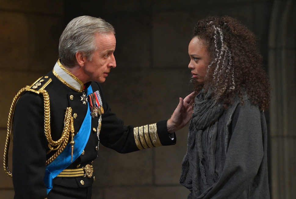 Robert Joy as King Charles; Michelle Beck as Jess