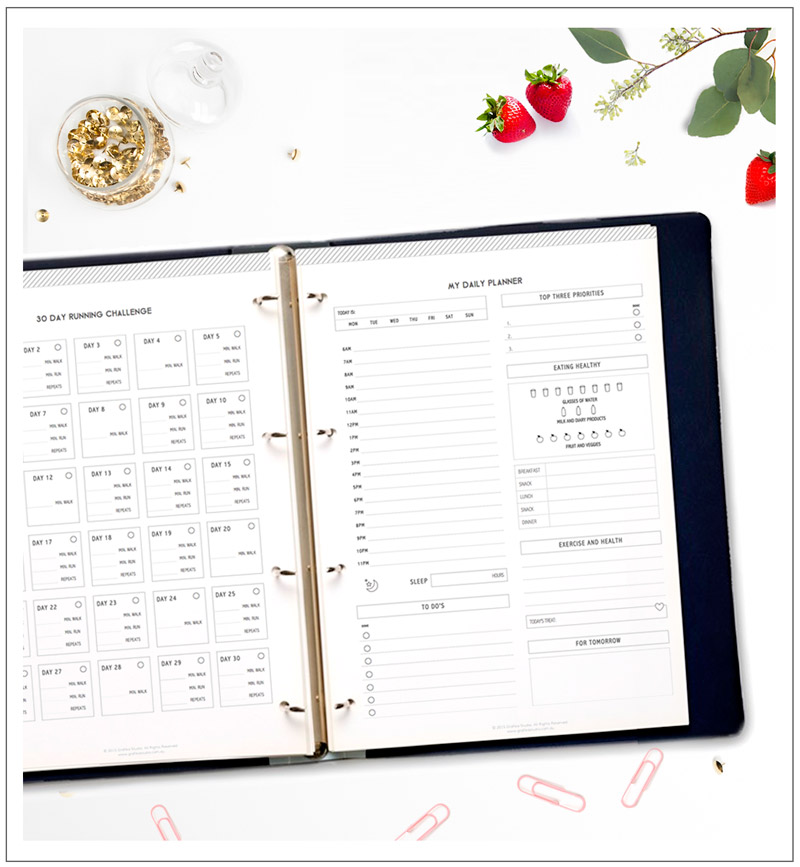 Printable-Health-Fitness-Planner