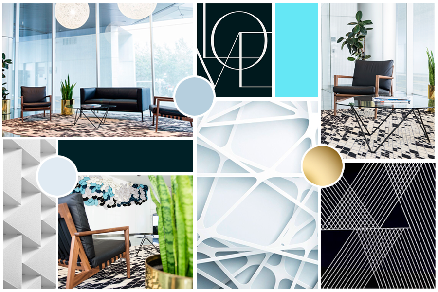State 28 Interiors brand mood board