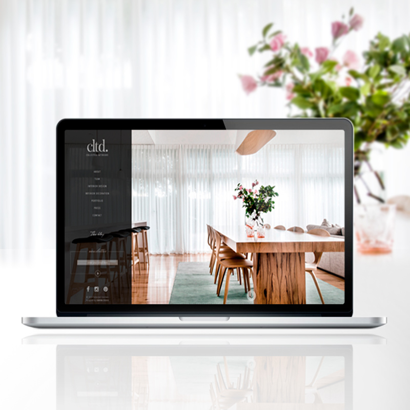 COLLECTED INTERIORS   Website Design • PR & Social Media