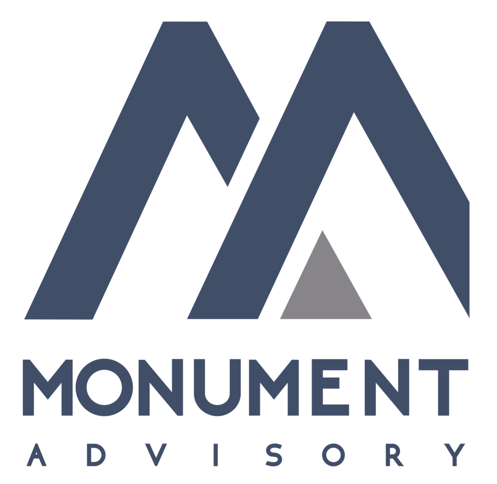Monument-Advisory-logo-design
