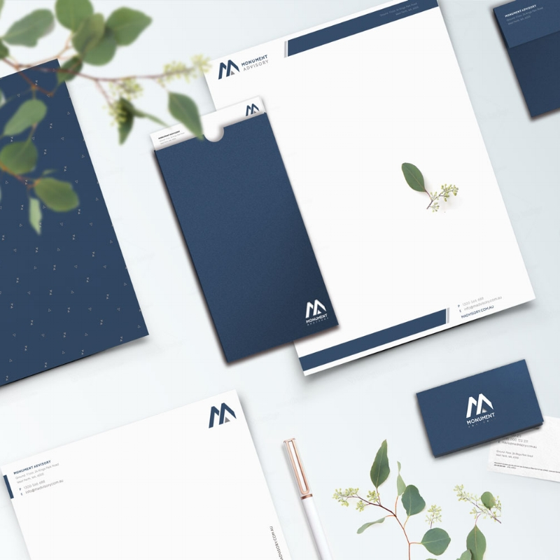 MONUMENT ADVISORY       Logo • Brand Identity • Business Stationery       View Project →