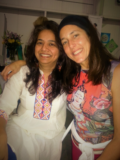 Simplicity with her Ayurveda Teacher                                              Dr. Sunita Tarkunde of Houston Ayurveda Center