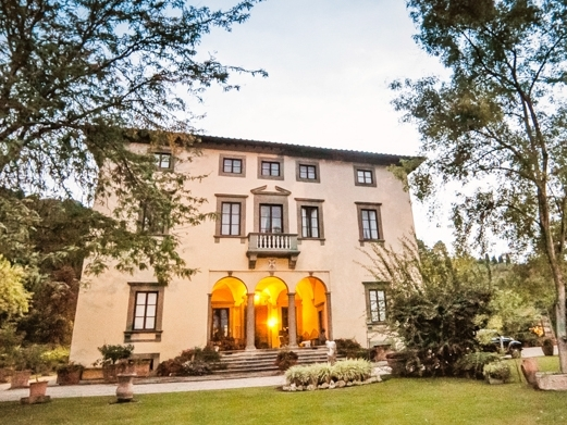 Villa Massimo - An Event-Only villa in Lucca with immaculate grounds, a late music license and the option of a legal, civil ceremony onsite.Read More...