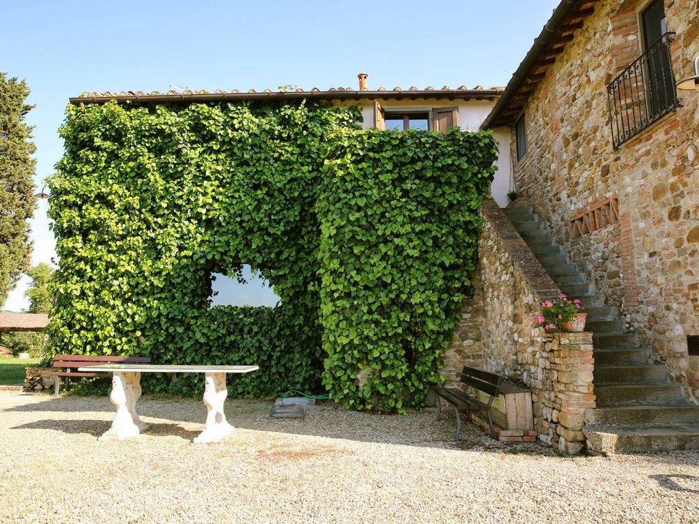 Villa Ivana - A rustic farmhouse, sleeping 35, and close to Florence. Villa Ivana offers charm and perfect Tuscan views. Read More...