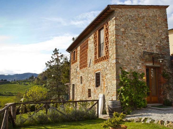 Villa Gastone - Villa Gastone is a boutique hotel in the hills of Lucca which sleeps 26. An onsite civil ceremony is possible.Read More...