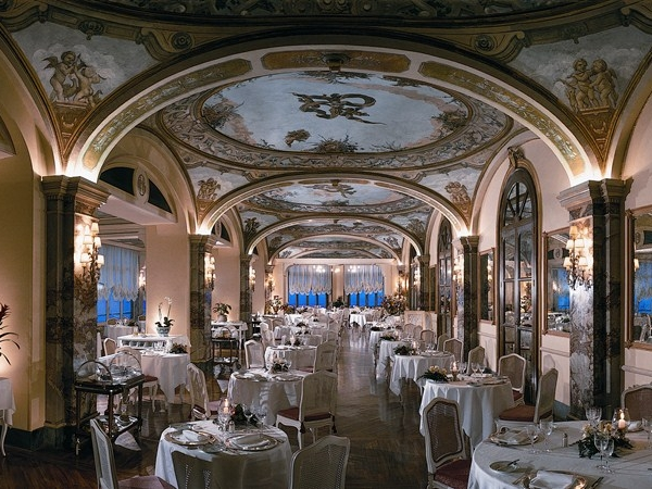 Hotel Victoria - A grand 5* hotel with formal, fresco-ed dining room and breathtaking views.Read More...