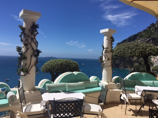 Hotel Emilia - An intimate hotel with the sea views on one side and the beautiful town of Positano on the other side.Read More...