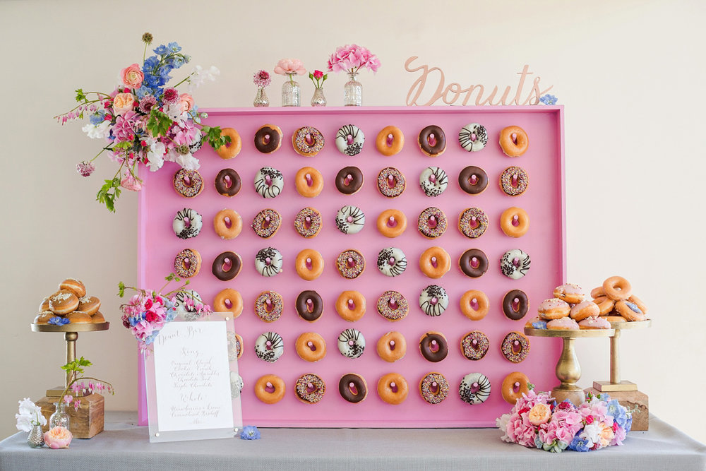 Donut wall by Kalm Kitchen. Image from LoveMyDress via Pinterest